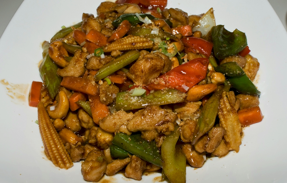 Chicken Cashew Vegetables With Oyster Sauce