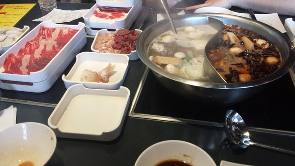 Our Famous Table-Top Hot Pot Soup
