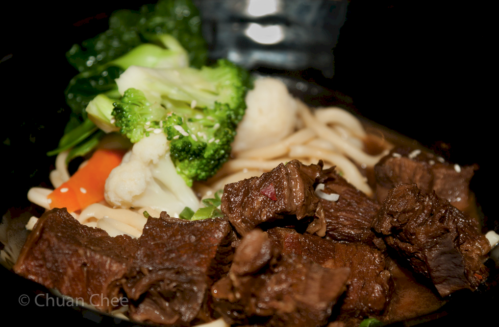 Taiwanese Style Spicy Beef Noodle Soup